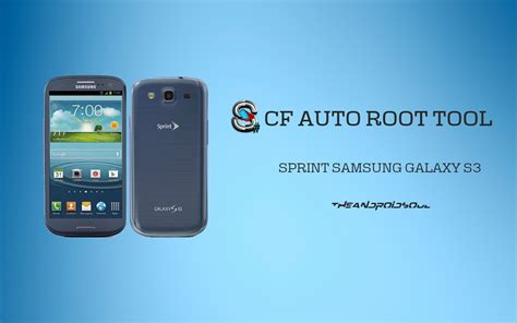 Cf Auto Root S3 by Root Sprint Samsung Galaxy S3 Sph L710 With One Click Cf