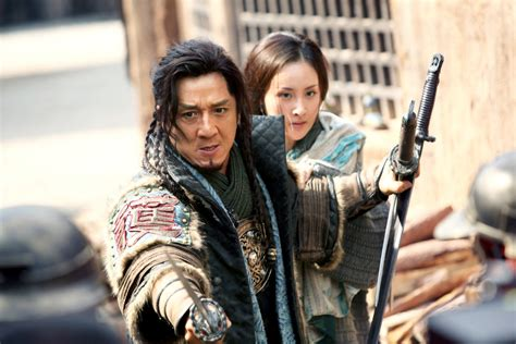mika wang film review dragon blade features jackie chan romans and a