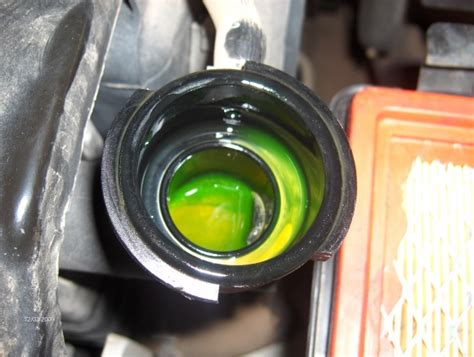 what color is coolant coolant color jeep forum