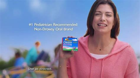 claritin commercial actress children s claritin tv commercial bed time in class