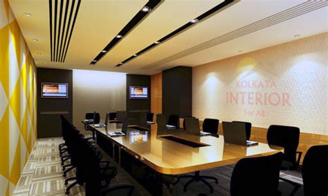 interior decoration conference office interior decoration designers ideas kolkata bengal