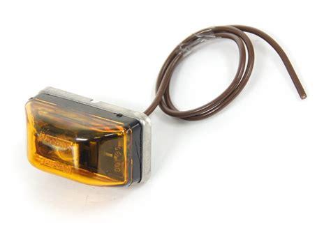 wesbar waterproof trailer lights wesbar waterproof clearance marker lights amber