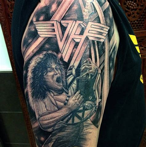 tattoo van halen 13 best halen fan tattoos nsf