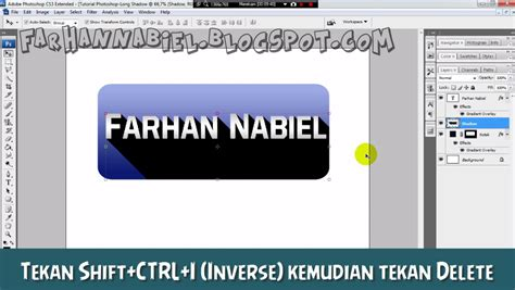 kumpulan tutorial photoshop cs5 photoshop tutorial long shadow farhan nabiel download