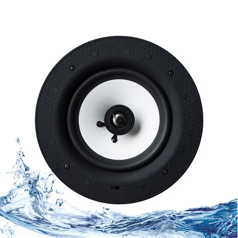 Wireless Ceiling Light Speakers Lithe Audio 6 5 Quot 2 Way Passive Ip44 Ceiling Speaker Single Retrotouch Designer Light