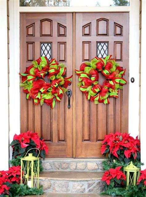 Decoration Porte Noel by 50 Id 233 Es De D 233 Coration De Porte D Entr 233 E De No 235 L