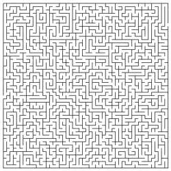 41280mxesp Free Printable Very Difficult Mazes Coloring Pages sketch template