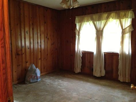 How To Paint Paneling How To Decorate Around Dark Wood Paneling