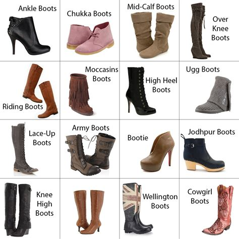 name all types of boats 9 boot types you need to have in your closet this winter
