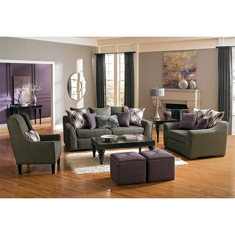purple and grey accent chair modern chair katrin accent