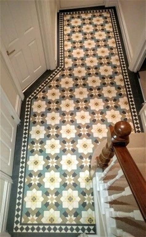 edwardian design on pinterest encaustic tile tiled 25 best ideas about tiled hallway on pinterest