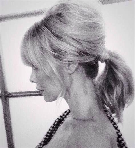 ponytail after 60 60 s ponytail model barbara snellenburg the ponytail