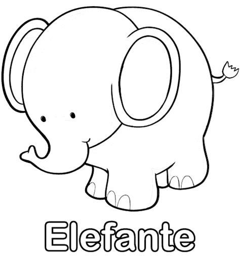 imagenes para colorear elefante dibujo para colorear elefante colorearcolorear net