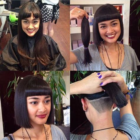 return of the bowl haircut daily makeover 1000 ideas about shaved side hair on pinterest shaved