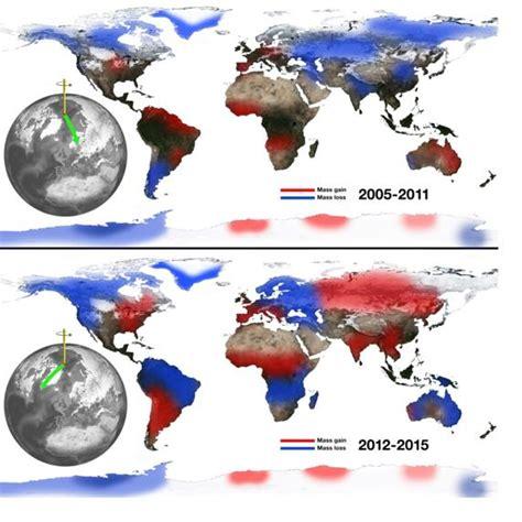 oscilacion del eje de la tierra el cambio clim 225 tico altera el eje de rotaci 243 n de la tierra