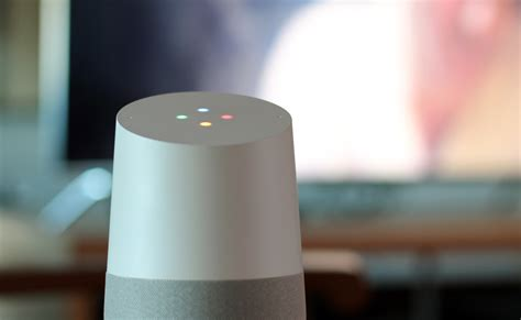 google home google home review google puts its a i on a nightstand