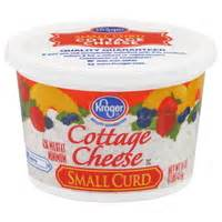 how many calories are in cottage cheese calories in kroger cottage cheese small curd