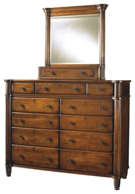 Mount Vernon Upholstery by Durham Furniture Mount Vernon Dressing Chest In Cunningham