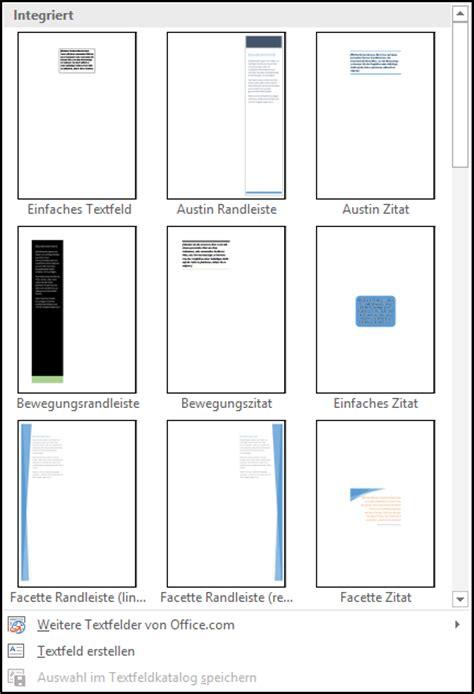 Word Etiketten Rahmen Drucken by Word Textfeld Erstellen Office Lernen