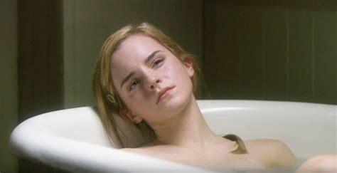 emma watson bathtub emma watson takes a bath up to three times a day emma
