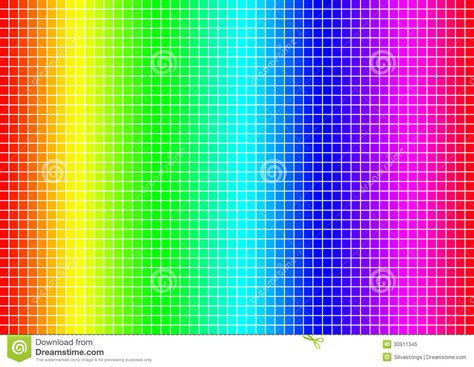 grid color colour spectrum grid royalty free stock photo image