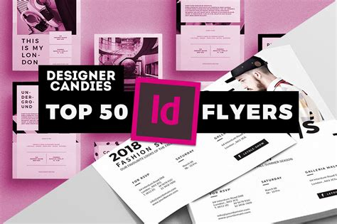 free indesign flyer templates indesign flyer templates top 50 indd flyers for 2018 designercandies