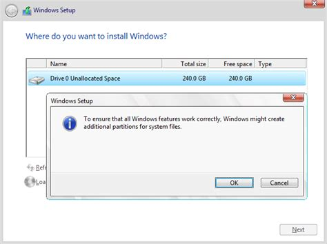 install windows 10 separate partition cant install windows 10 because of gpt partition error