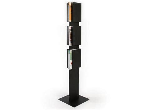 magazine rack layout steel magazine rack floor case by inno interior oy design