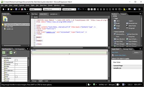 tutorial web expression 4 microsoft expression web webpage layout