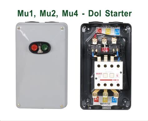 3 phase dol motor starter at rs 1500 pconwards dol starter