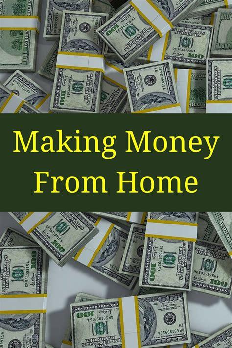 money from home tidbits of experience