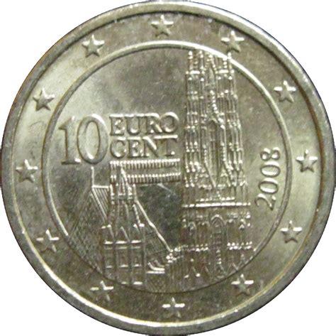 10 buro cent 10 cents d 2e carte autriche numista
