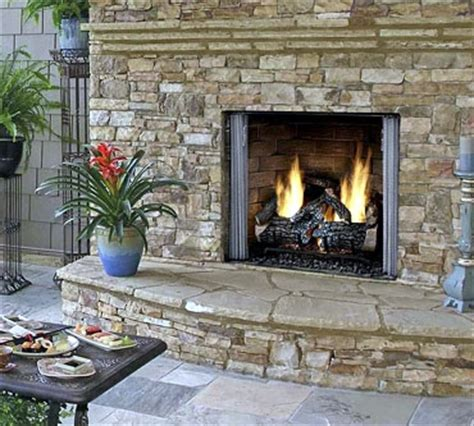 Outdoor Gas Fireplaces For Decks by Outdoor Patio Gas Fireplace Fireplaces