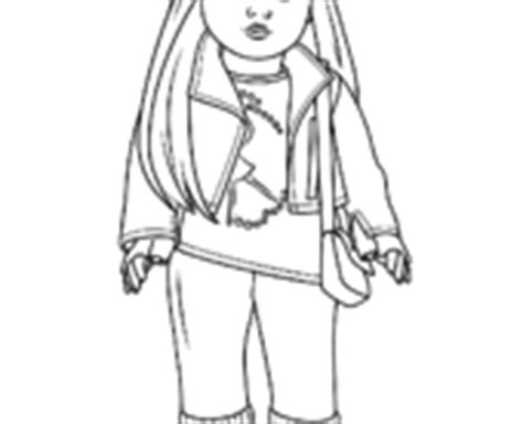 american girl doll julie coloring page free printable american girl doll coloring pages samantha enchanting