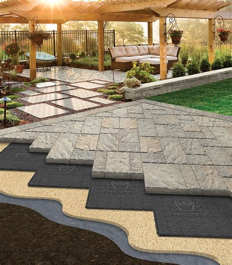 patio base options all decked out