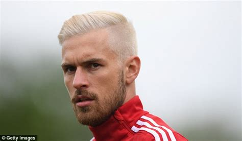 aaron ramsey bleaches hair for wales euro 2016 caign aaron ramsey wants his football to do the talking rather