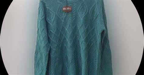 Sweater Sweater Rajut Baju Rajut Pakaian Wanita Rajutan big size sweater rajut ukuran besar toko busana pakaian