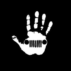 jeep wave hand vinyl decal stickers custom sticker shop
