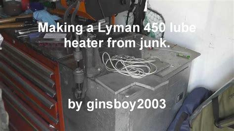 lyman 450 lube heater wmv