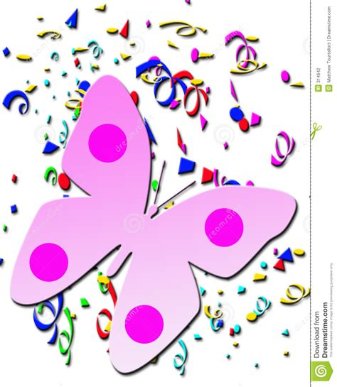butterfly birthday card template butterfly on confetti background greeting card
