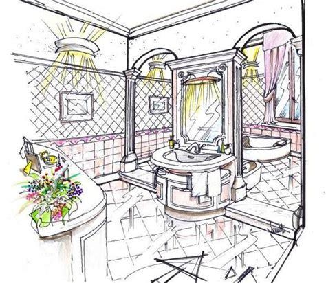 disegni bagno progetto per bagno classico