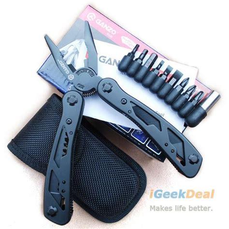 Ganzo Black Multitools Pocketplier G109 ganzo multi tool kit g104 pocket plier g2015pb retailed pouch box multitool knife 440c diy