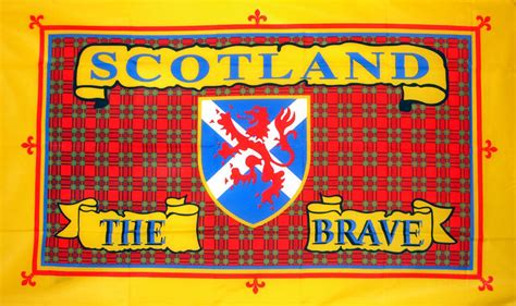 Scotland The Brave by Scotland The Brave 5 X 3 Flag