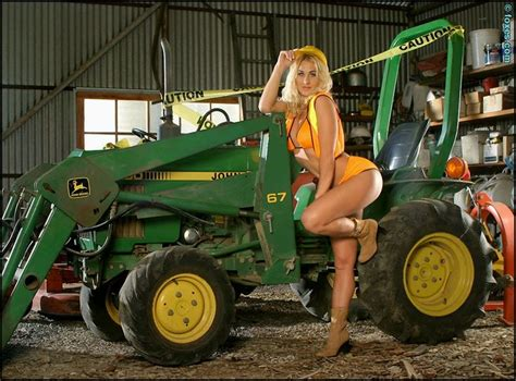 girls on john deere tractors the tractor girls have all been lounging around taking the