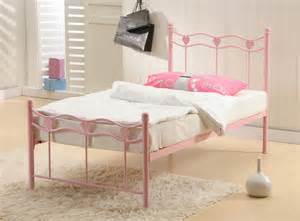 girls double beds madrid girls metal bed frame