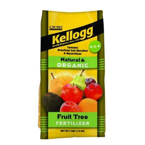fertilizer for fruit trees kellogg garden organics 3 5 lb fruit tree fertilizer 3002