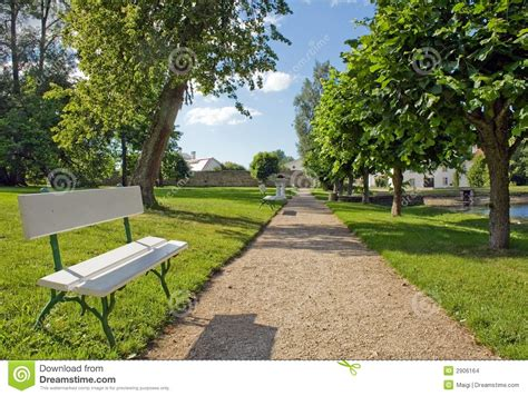 a bench in the park bench in the park stock images image 2906164