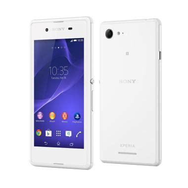 Handphone Sony Xperia E4 jual sony xperia e smartphone white 512 mb 4 gb