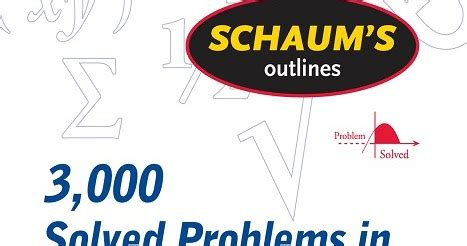Schaums Outline Geometry Free by Schaum S Outlines Of 3 000 Solved Problems In Calculus By Elliott Mendelson Free Free