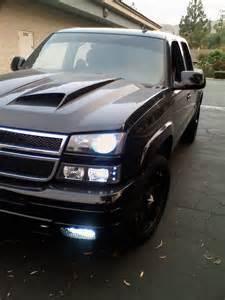 03 06 chevy silverado halo led projector headlights dash